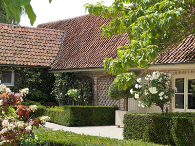 Tuinarchitect Greenplanning Realisatie Landelijke Tuin Te Oostende